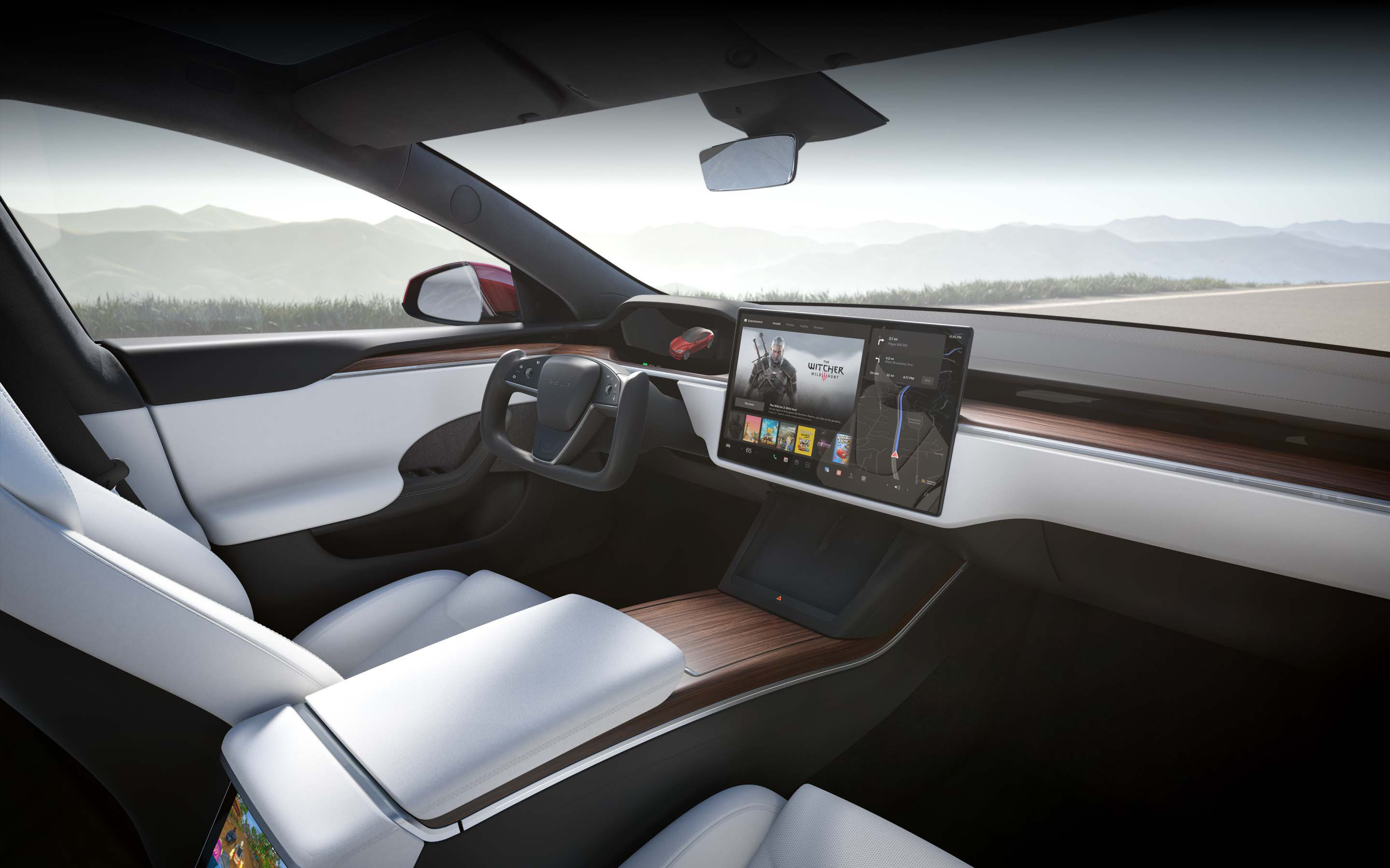 Interior Image of a Model S