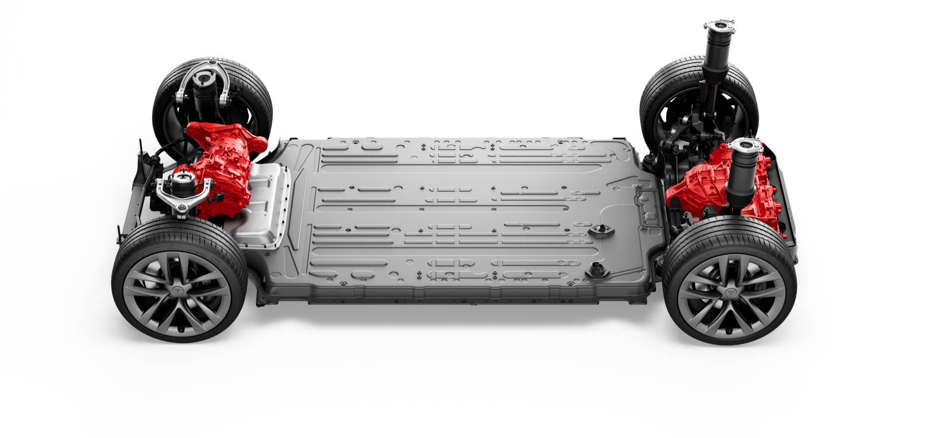 Model S Tri Motor All-Wheel Drive