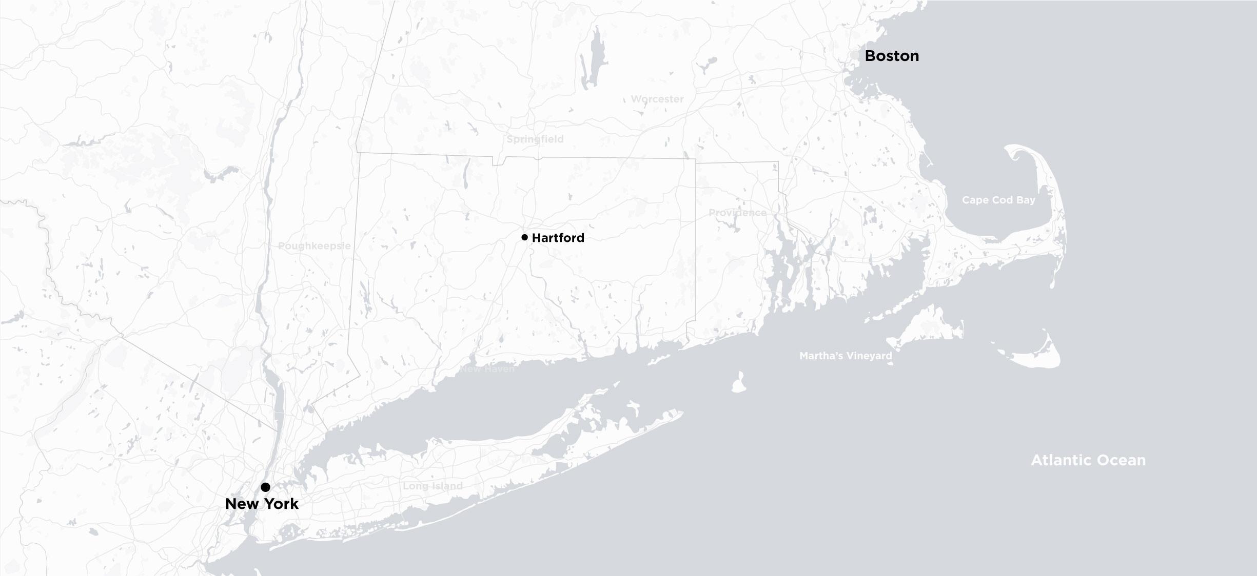 Manhattan to Boston