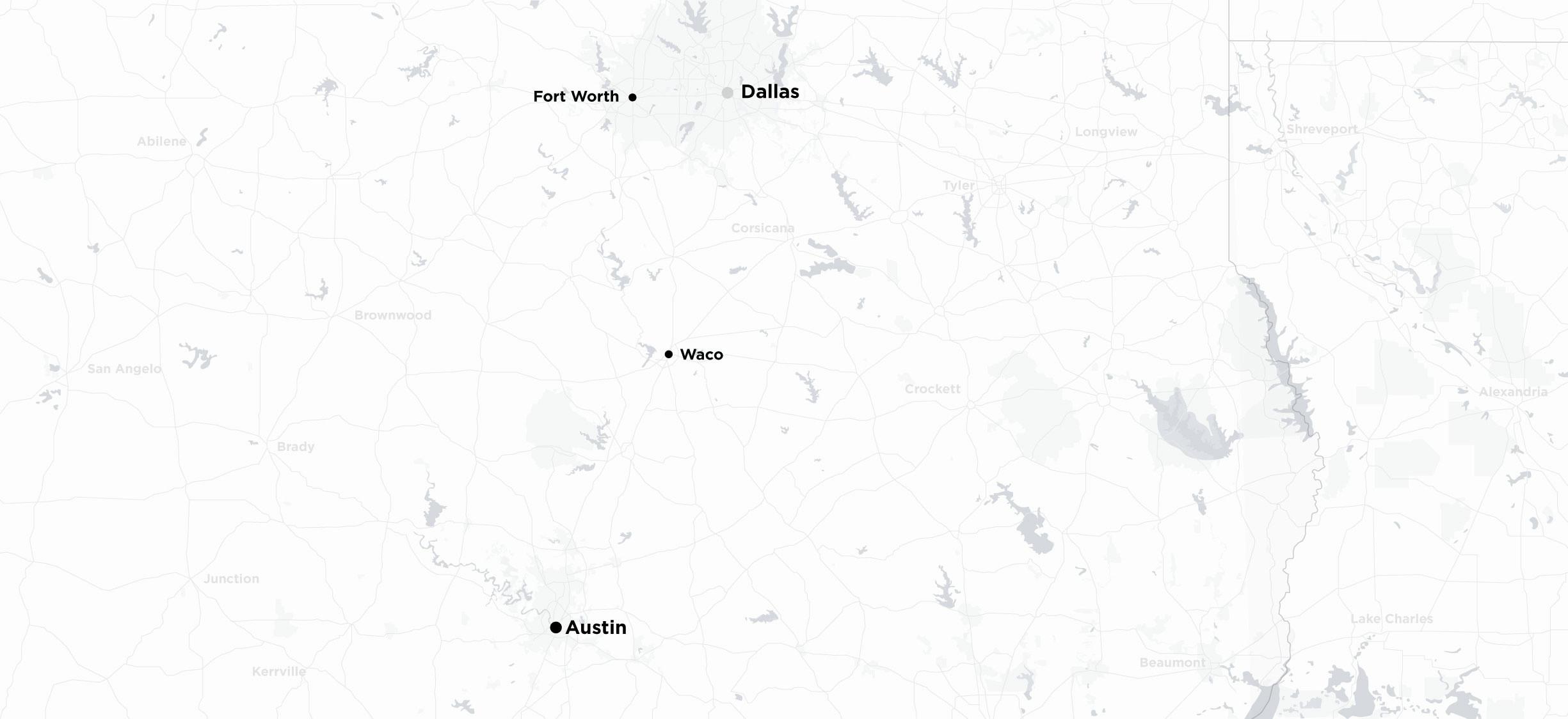 Austin to Dallas