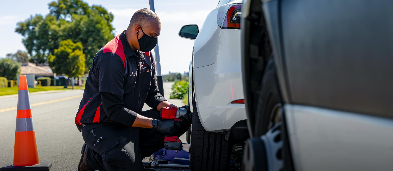 réparation de pneus en bordure de route