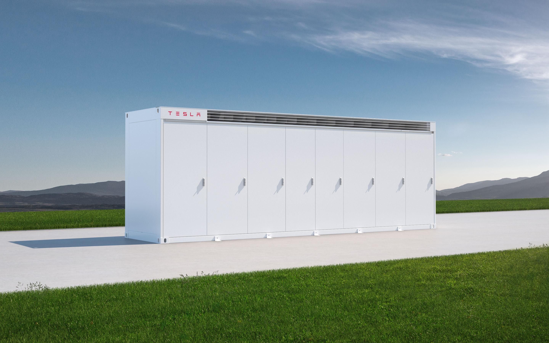 The Tesla Megapack